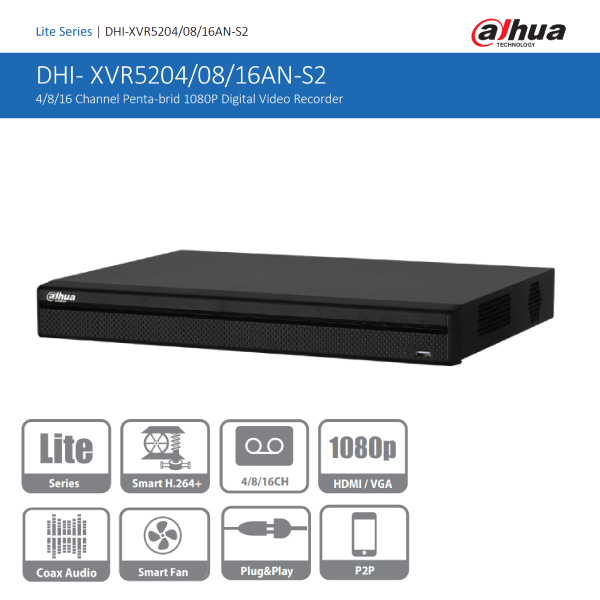 DHI-XVR5208AN-S2